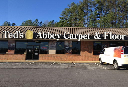 Abbey Carpet & Floor in Anniston.