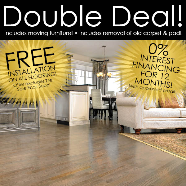 Furniture 0 Interest: Free Installation On All Flooring*