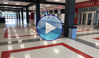 JSU Pete Matthews Coliseum - Project by Ted's Abbey Carpet & Floor